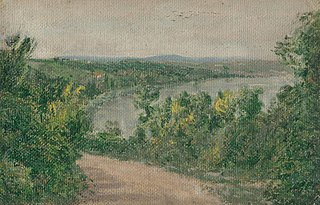 Landscape from the Basin of the Danube