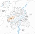 Karte Gemeinde La Brillaz 2007.png