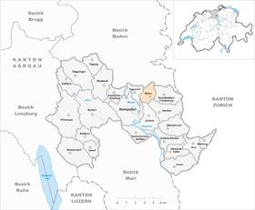 Karte von Widen