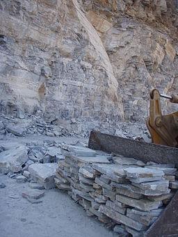 Karystos Slate stone Quarry
