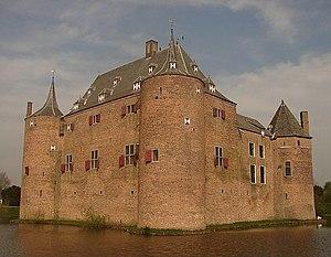 Ammersoyen Castle - Ammersoyen Castle in ca. 2010