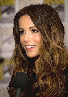 Kate Beckinsale tijdens de San Diego Comic-Con International in 2011