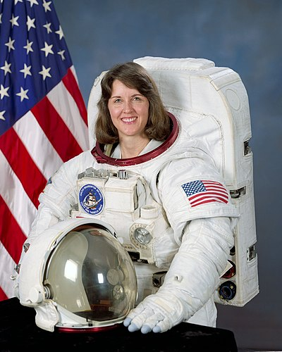 Kathryn C. Thornton, mechanical engineering and aerospace engineering professor, held the record for most NASA spacewalks by a woman until 2006. KathrynThornton.jpg