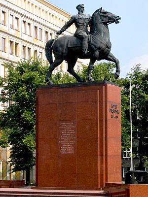 Antun Augustinčić - Image: Katowice pilsudski