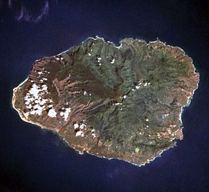 Kauai - August 1989 satellite photo