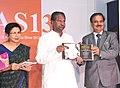 Kavuru Sambasiva Rao releasing the Trends Book on Indian Fashion Jewellery & Accessories, at the inauguration of the Indian 6th Fashion Jewellery & Accessories Show, in Greater Noida, Uttar Pradesh. The Secretary.jpg