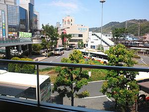 Kawachinagano, Osaka - Image: Kawachinagano Station Bus Terminal