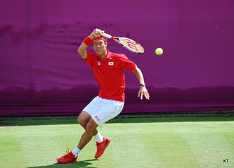 Japan at the 2012 Summer Olympics - Kei Nishikori in men's tennis singles.