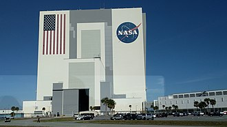 Closeup photo of the VAB Kennedy Space Center VAB.jpg