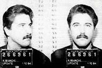 Hillside Strangler - Kenneth Bianchi mugshot in 1979