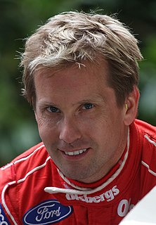 Kenny Bräck Swedish racecar driver
