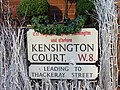 Kensington Street Signs - geograph.org.uk - 287437.jpg