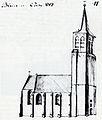 Kerk Bladel 1787 door Hendrik Verhees.jpg