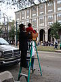 Kermit Ruffins on the parade route.jpg