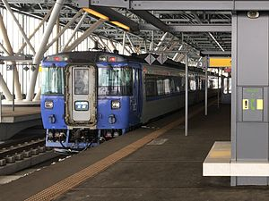 KiHa 183 Taisetsu 2 at Asahikawa Station 20170310.jpg