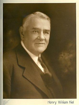 Henry Kiel - Henry W. Kiel