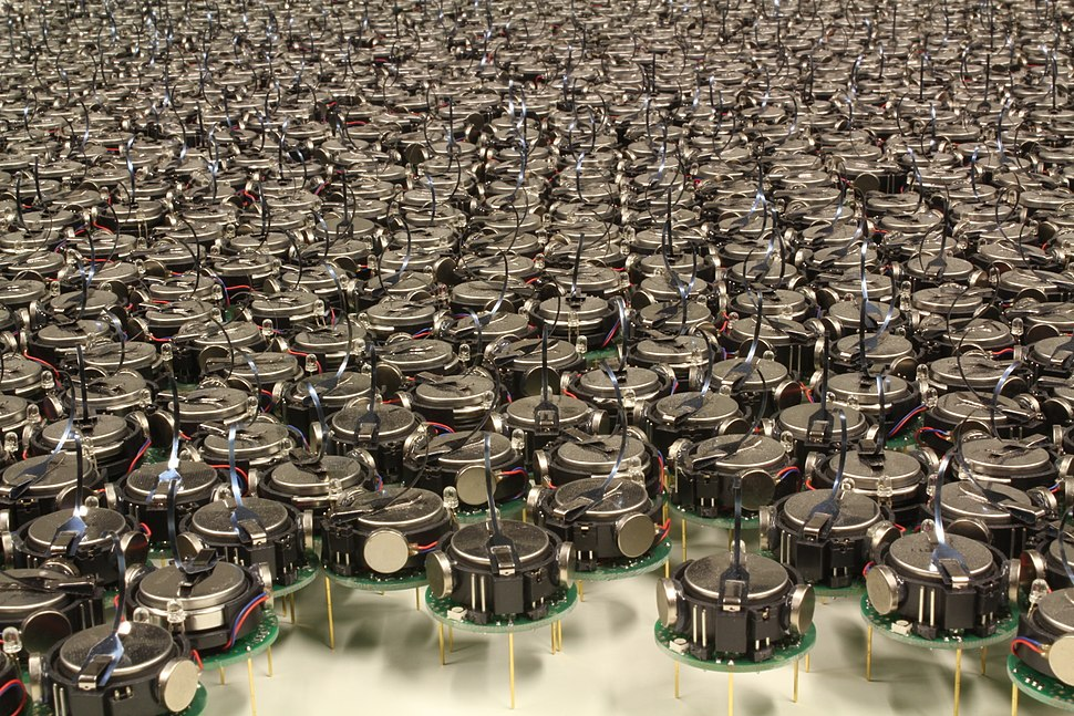 Kilobot robot swarm