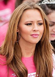 Kimberley Walsh English singer, model, television presenter, dancer and actress