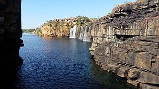 King Edward River River in Kimberley region of Western Australia