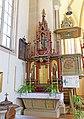 Kirche 1341 Seitenaltar links in A-2130 Siebenhirten.jpg
