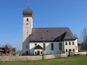 Warngau - Church in the Osterwarngau area of Warngau