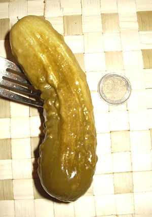 Polish style pickled cucumber