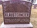 Klaustermeier Gravestone in Lester Prairie.jpg