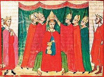 Coronation of Clement V.