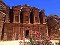 Kloster Ad Deir in Jordanien - Jordan - Petra - Felsenstadt - Ancient City - Monastary.jpg