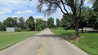 Knockemstiff, Ohio - Junction of Black Run Road and Shady Glen Road in Knockemstiff, Ohio