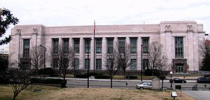 United States Post Office and Courthouse (Knoxville, Tennessee) - Image: Knoxville post office tn 1