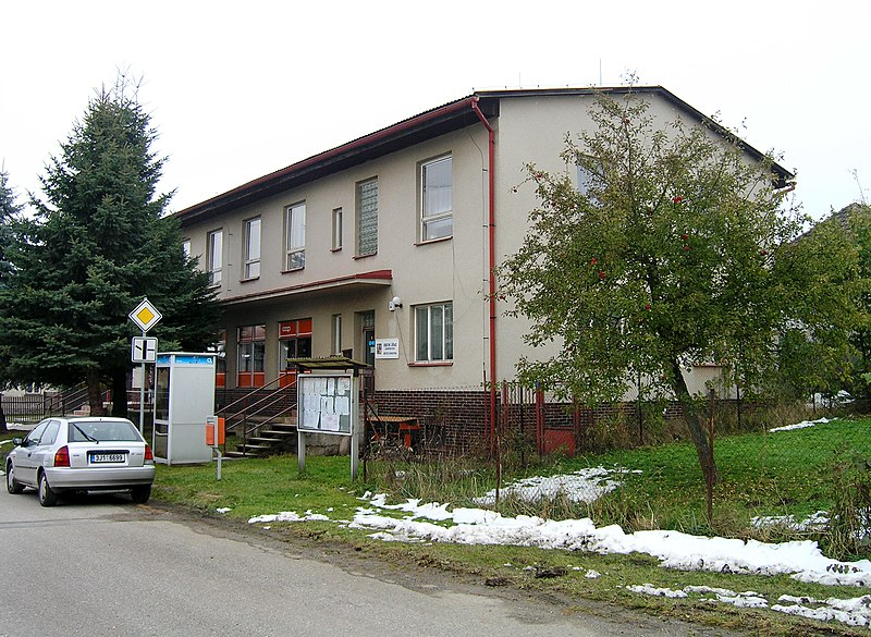 Soubor:Komorovice, municipal office.jpg