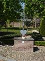 Koningsbosch (Echt-Susteren) wegkruis bij klooster.JPG