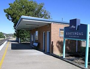 Kootingal railway