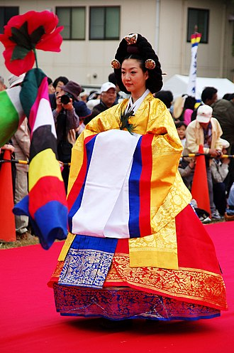 Geumbak - Image: Korean.costume Wonsam for.Queen.Joseon 01