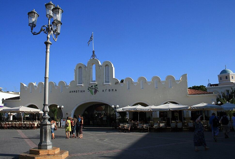 Kos market Agora 2