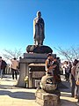 Koubou Daishi statue on Observation platform of Jakkoin.jpg