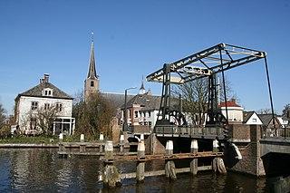 Koudekerk aan den Rijn Town in South Holland, Netherlands
