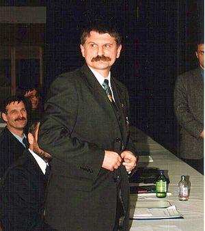 Minister of Civilian Intelligence Services (Hungary) - Image: Kover Laszlo 2000