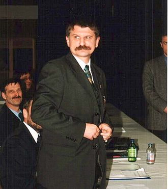 Minister of Civilian Intelligence Services (Hungary) - Image: Kover Laszlo 2000