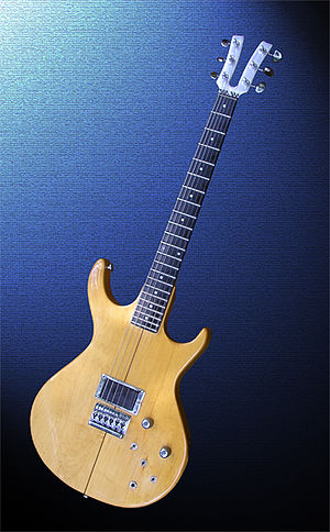 Music technology (electric) - A Kramer XKG-20 electric guitar circa 1980.