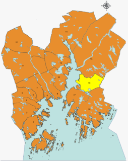 Hånes District of Kristiansand in Southern Norway, Norway