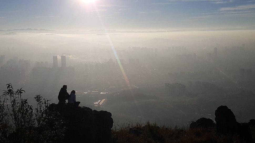 Kunming at sunrise