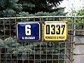 Kunratice, K jelenám 6, domovní čísla.jpg