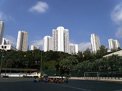 Kwai Shing East Estate (deep blue sky).JPG
