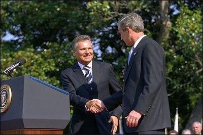 Kwasniewski and bush