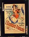 L'Etendard français, bicyclettes et tricycles - J. Chéret, 91. LCCN2004675012.jpg