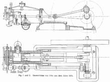 Motor de cuatro tiempos de Nicolaus August Otto