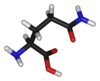 Stick model of the L-isomer