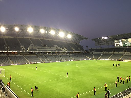 LAFC East Side Stadium interior